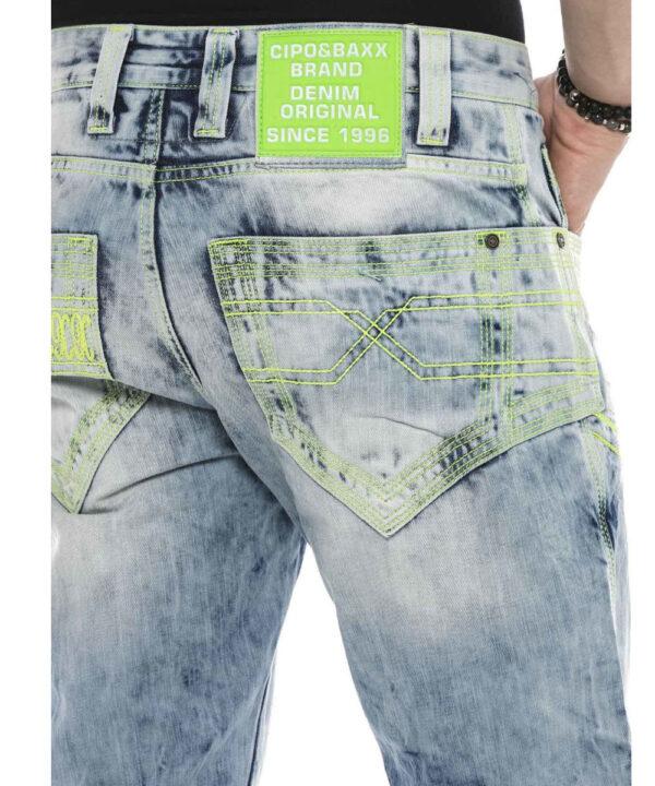 Cipo & Baxx Herren Jeans CD-596 light blue