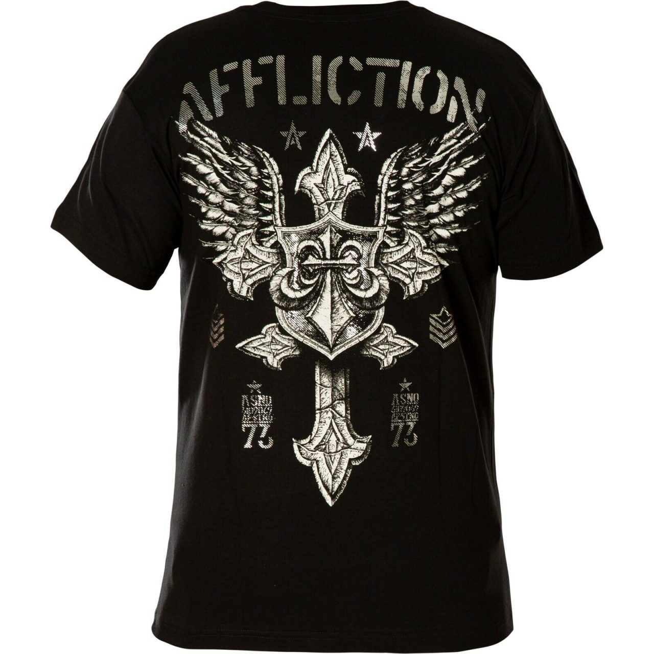 Affliction T-Shirt Return A-22758 black