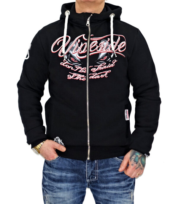 Vipeside Sweat-Jacke SWJ-01 black