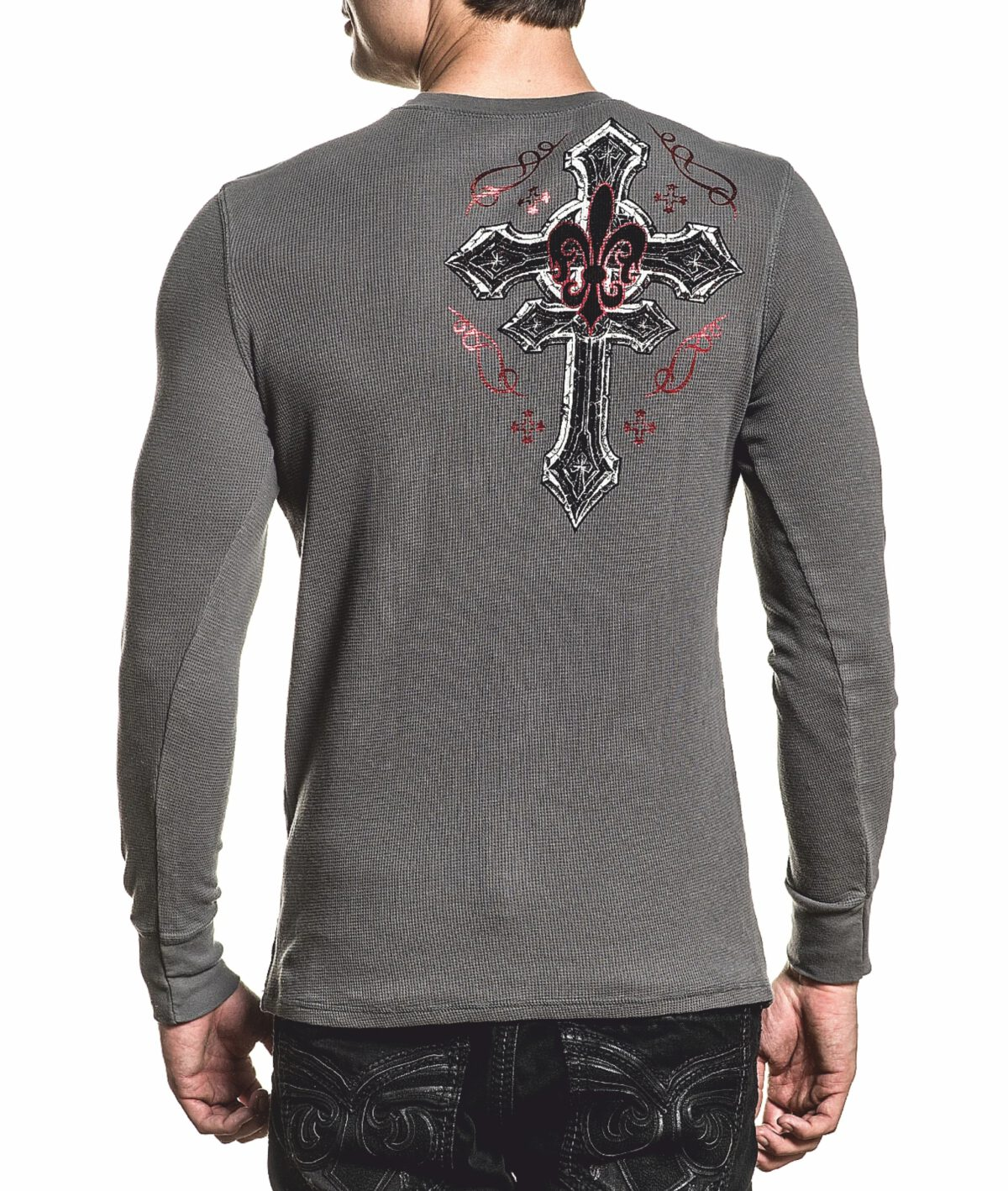 Xtreme Couture Longsleeve X-1883 grey