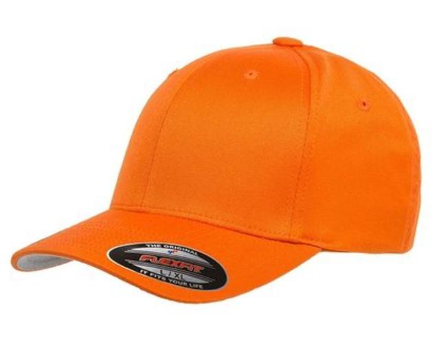 Flexfit Classic Baseball Cap 6277 orange