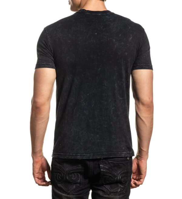 Affliction T-Shirt Winged up A-20629 black