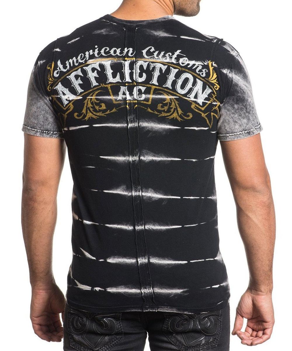 Affliction T-Shirt Inquisition A-15851 black
