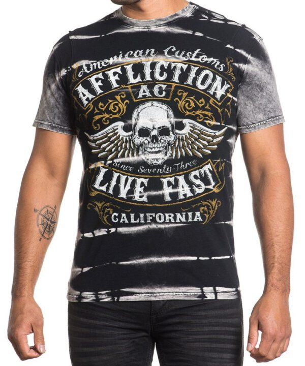 Affliction T-Shirt Inquisition A-15851 black