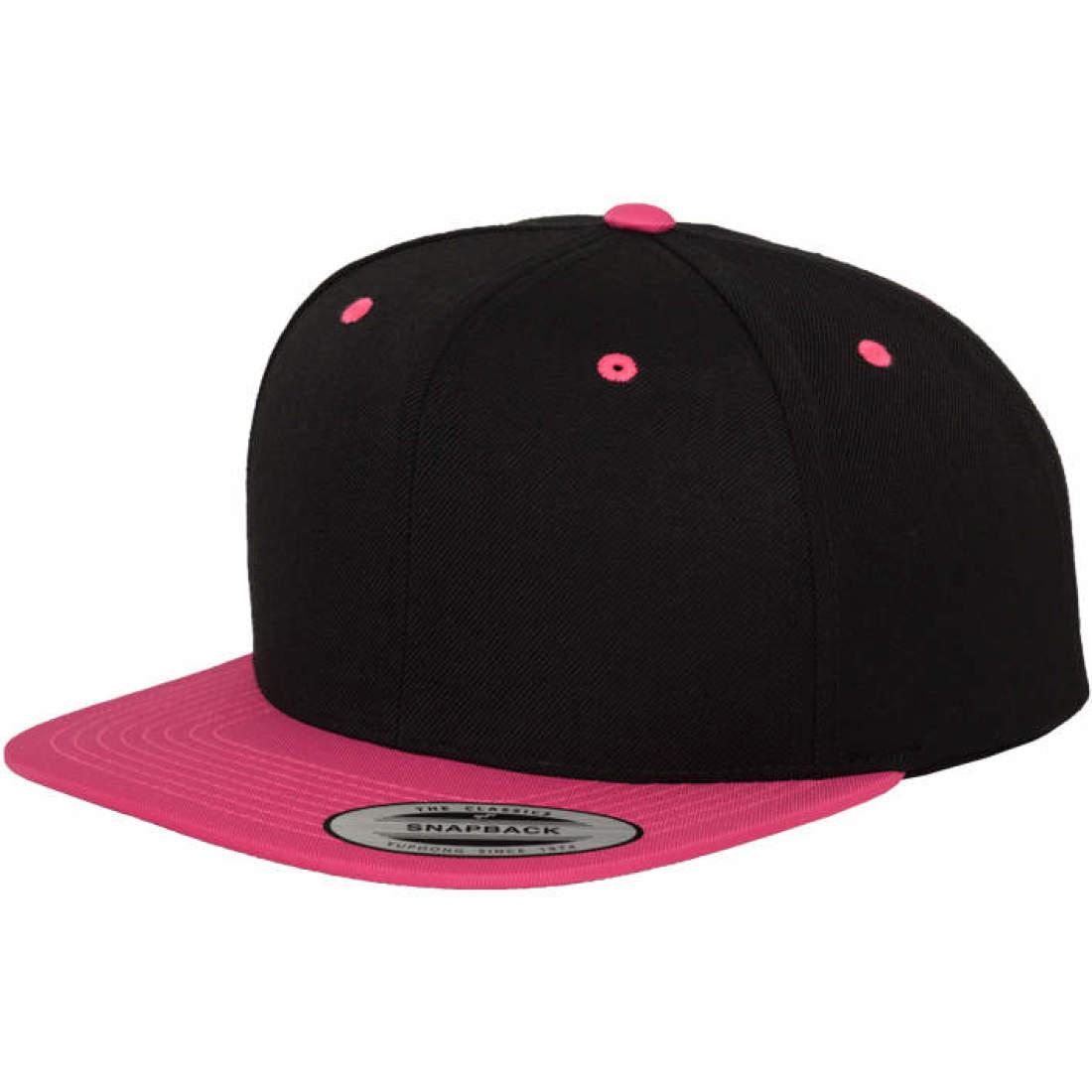 FLEXFIT ORIGINAL SNAPBACK- CAP neon pink