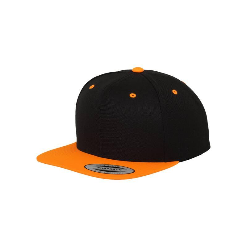 FLEXFIT ORIGINAL SNAPBACK- CAP neon orange