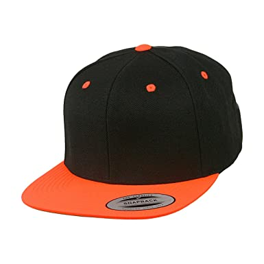 FLEXFIT ORIGINAL SNAPBACK- CAP neon orange