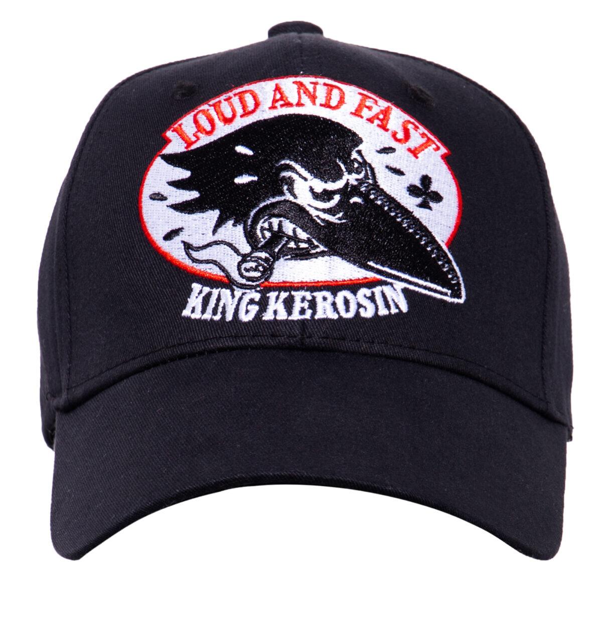 """King Kerosin BASEBALL CAP """"Loud and Fast"""""""