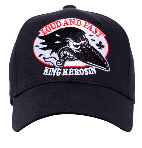 "King Kerosin BASEBALL CAP ""Loud and Fast"""