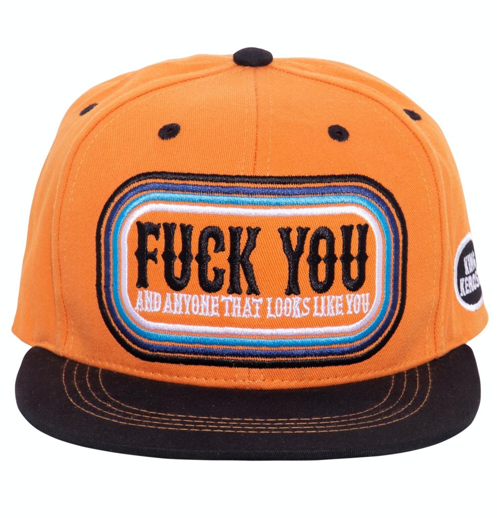 King Kerosin SNAPBACK CAP »F**K YOU«