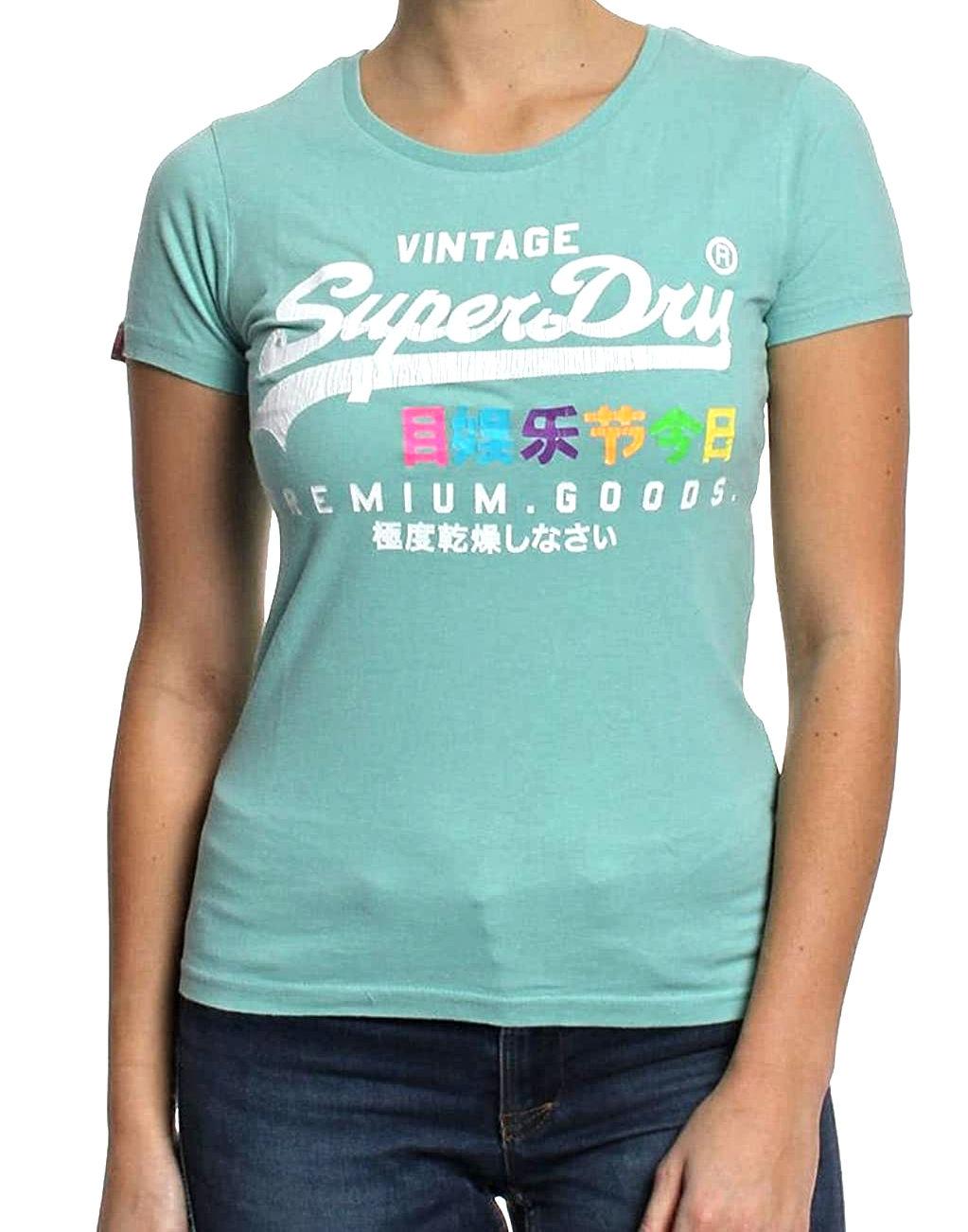 Superdry Damen T-Shirt G10003HO green