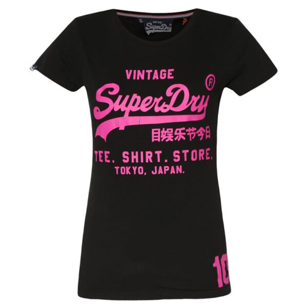 Superdry Damen T-Shirt G10007ANF1 black