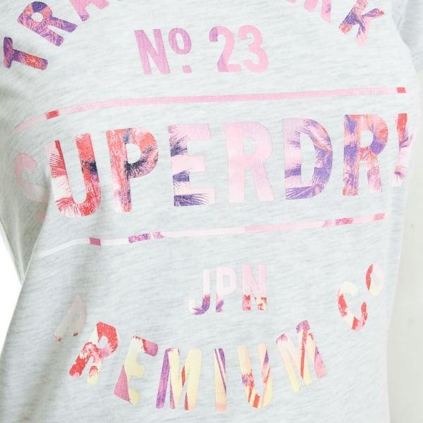 Superdry Damen T-Shirt G10012XODS ice marl