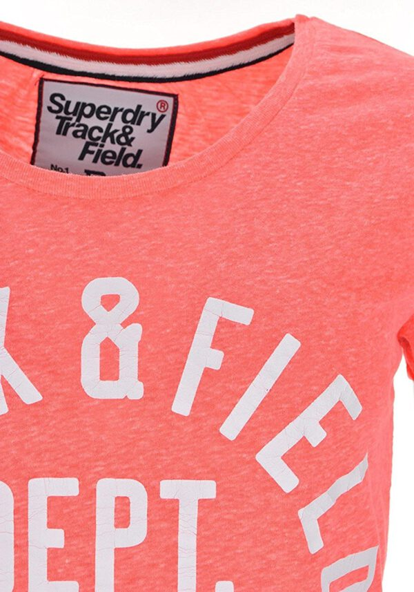 Superdry Damen T-Shirt G10MX037F1 fuchsia rose