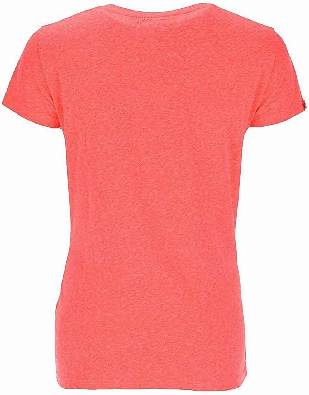 Superdry Damen T-Shirt G10MX037F1 fuchsia rose