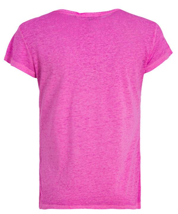 Superdry Damen T-Shirt G60010RO raspeberry sorbet neon