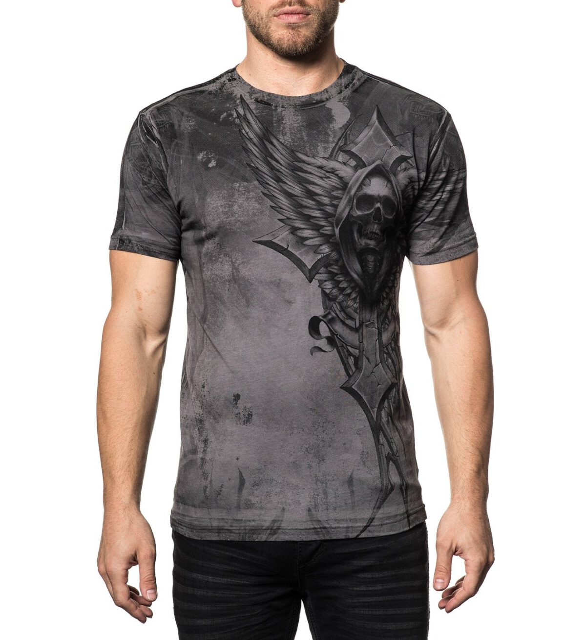 Xtreme Couture T-Shirt X-1757 grey/black