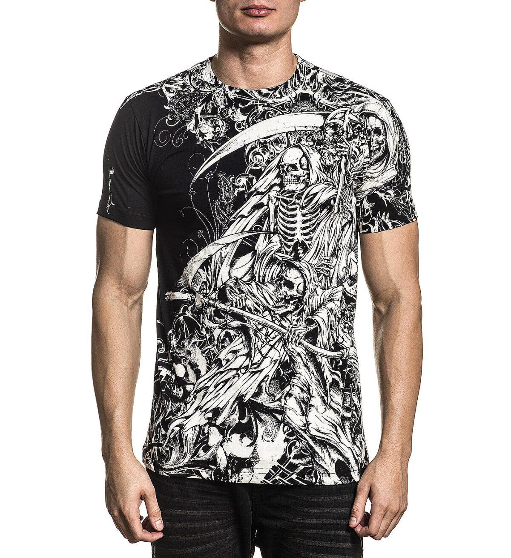 Xtreme Couture T-Shirt X-1867 schwarz
