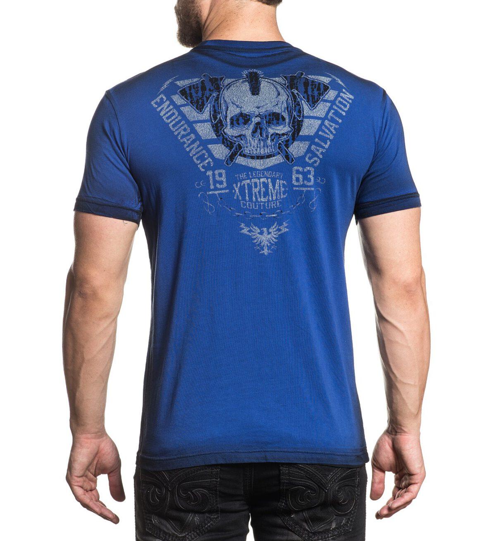 Xtreme Couture Spirit Warrior T-Shirt X-1777 blue