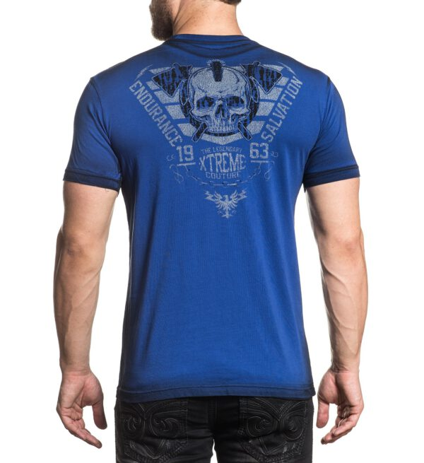 Xtreme Couture Spirit Warrior T-Shirt X-1777 blue