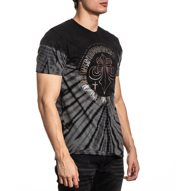 Xtreme Couture T-Shirt dark horse X-1798 grey/black
