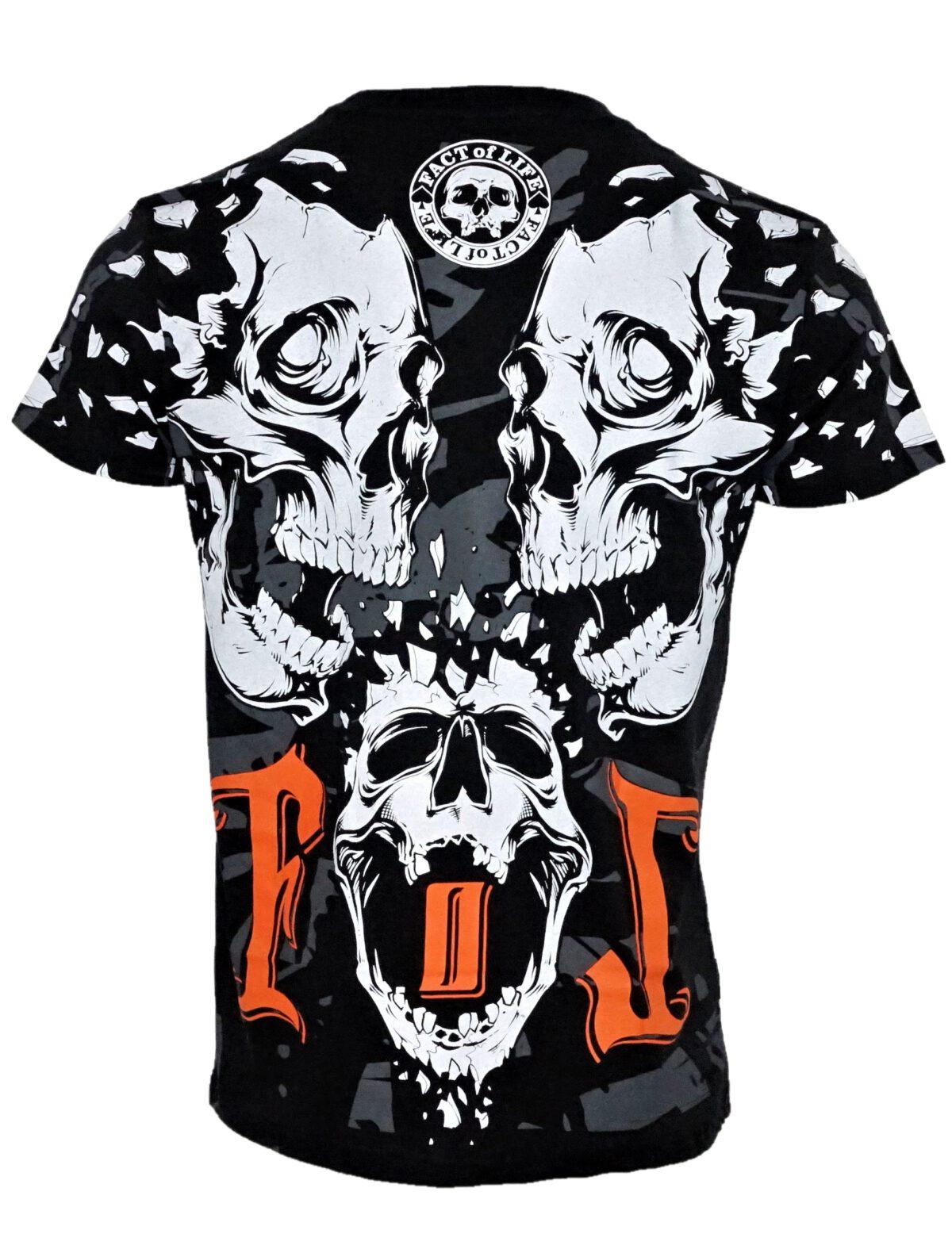 "Fact of Life T-Shirt TS-34 ""Destruction"" black"