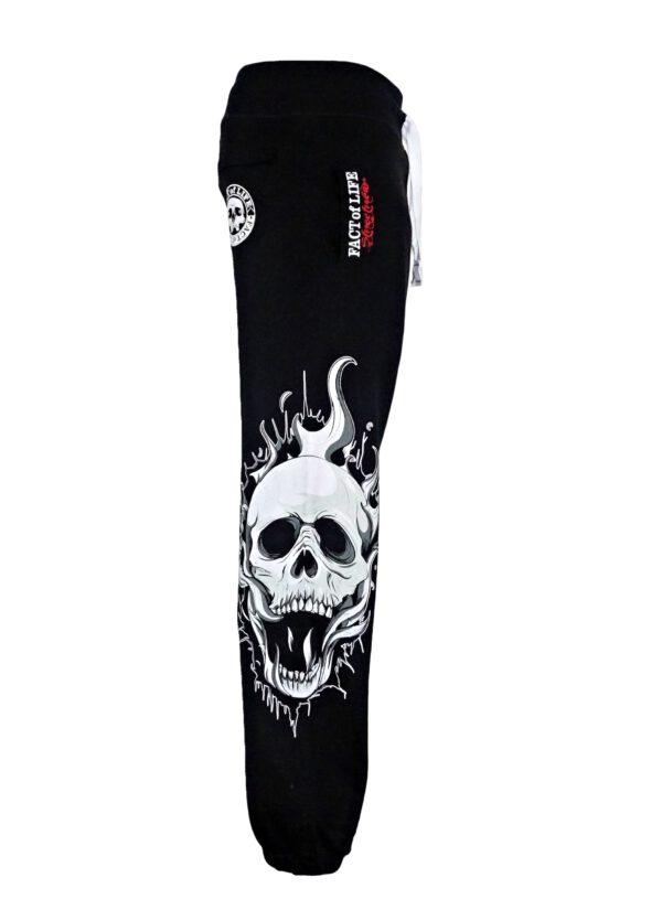 Fact of Life Jogginghose JH-03 Skull black