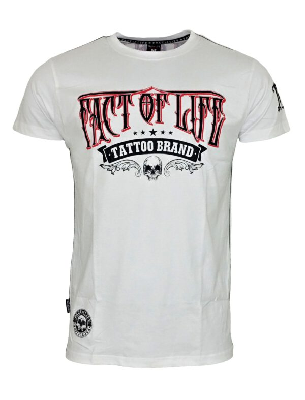 Fact of Life T-Shirt TS-26 Crow weiß.