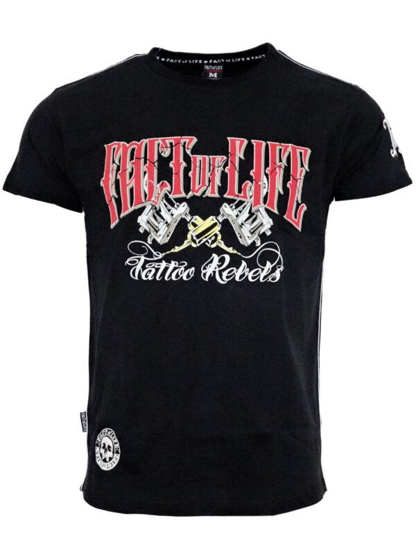 Fact of Life T-Shirt TS-32 Tattoo Rebels black