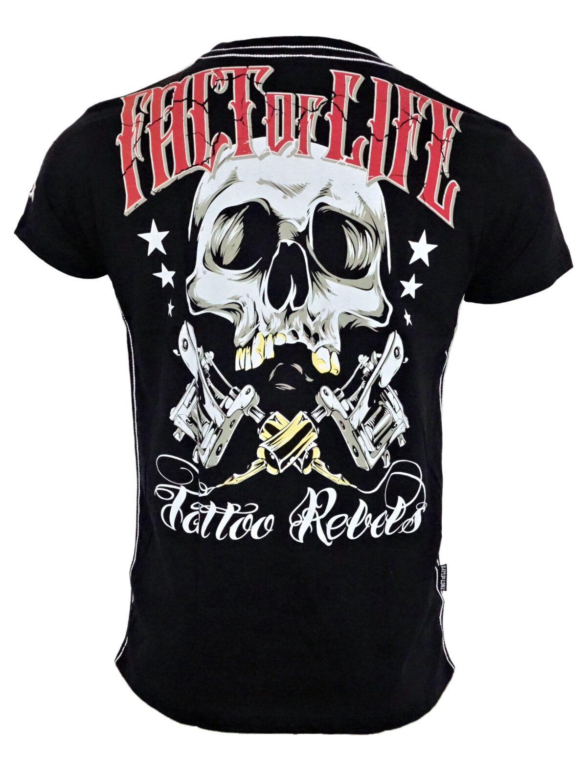 Fact of Life T-Shirt TS-32 Tattoo Rebels black.