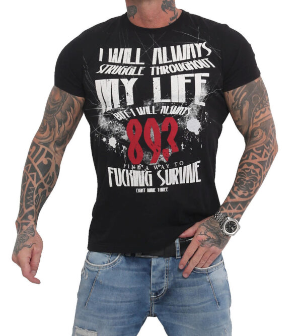 Yakuza My Life T-Shirt TSB-16021 black