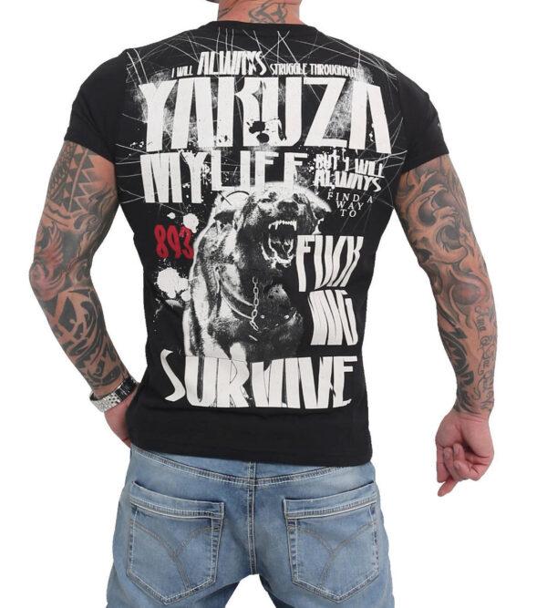 Yakuza My Life T-Shirt TSB-16021 black