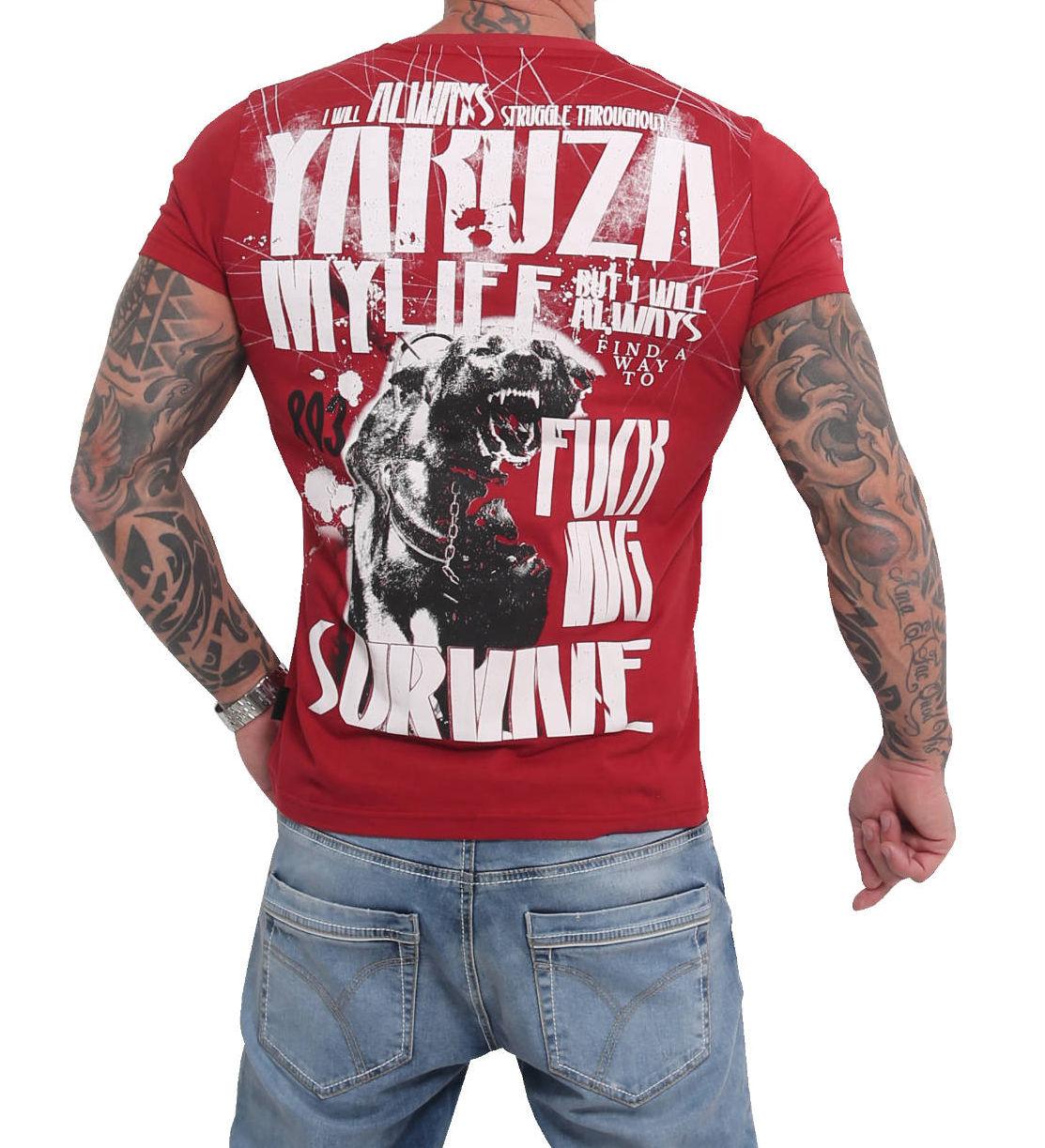 Yakuza T-Shirt TSB16021chillipepper
