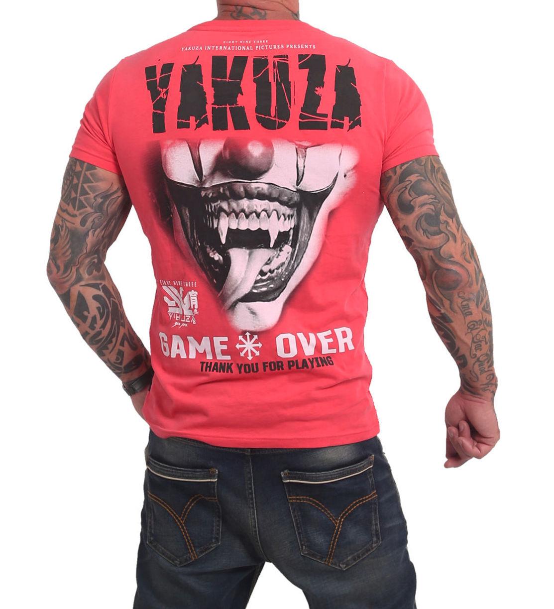 Yakuza Game Over T-Shirt TSB-16088 geranium