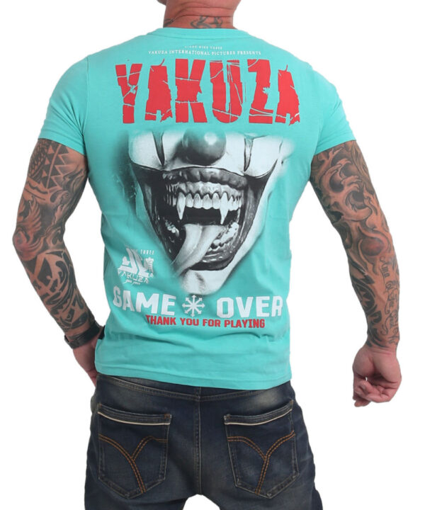 Yakuza Game Over T-Shirt TSB-16088 turqouise