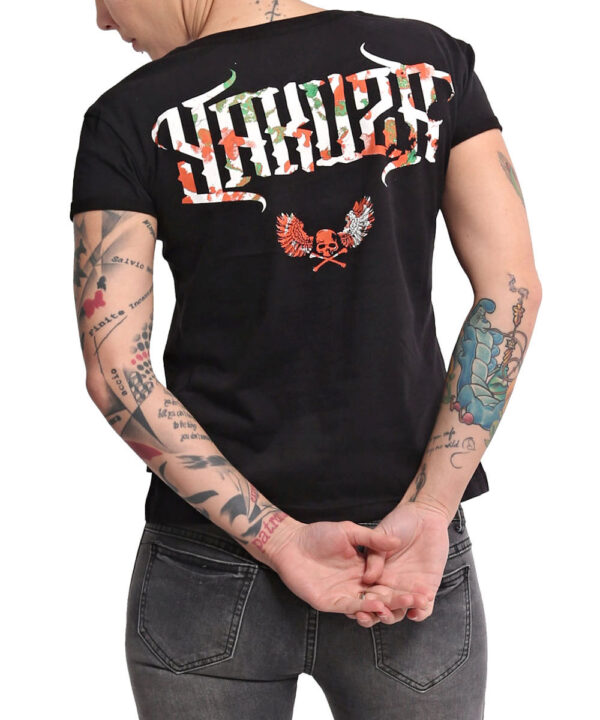 Yakuza Angel Box Fit T-Shirt GSB-16133 schwarz