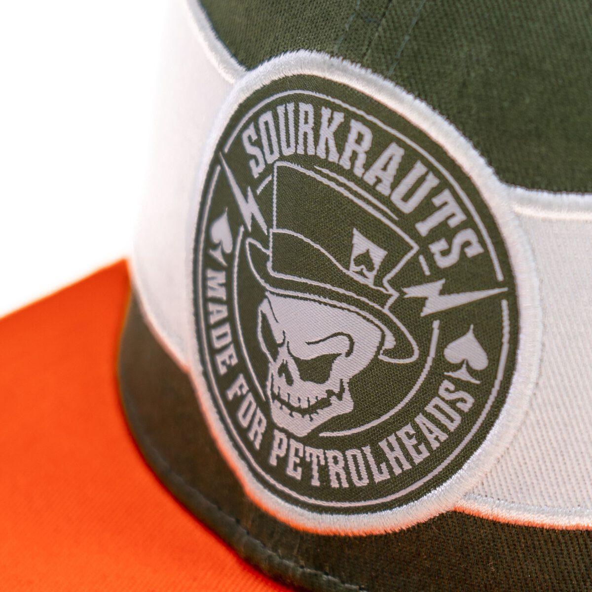 Sourkrauts Snapback sk2 gruenorange