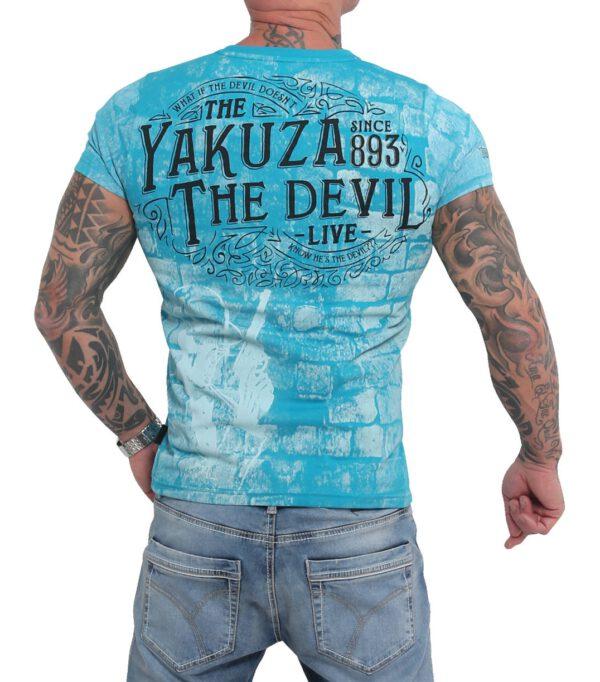 Yakuza T-Shirt TSB-16011 caribbean sea