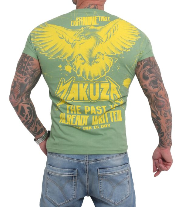 Yakuza Dry Ink T-Shirt TSB-16026 turf green