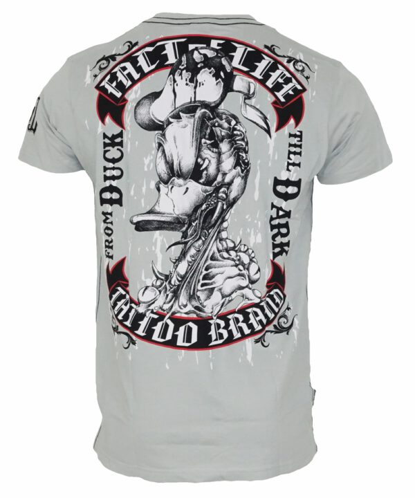 "Fact of Life Herren T-Shirt ""From Duck Till Dark"" TS-28 grey"
