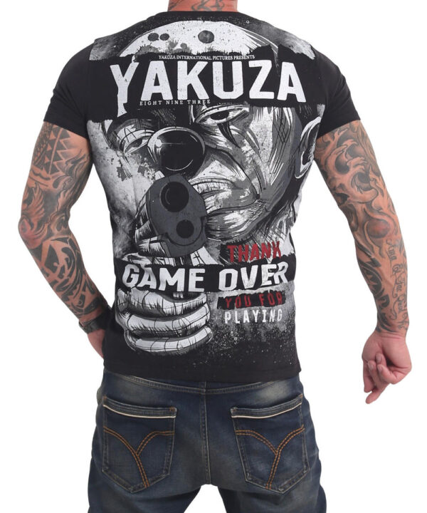 Yakuza Hating Clown T-Shirt TSB 17029 black