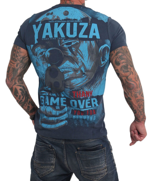 Yakuza Hating Clown T-Shirt TSB 17029 midnight navy