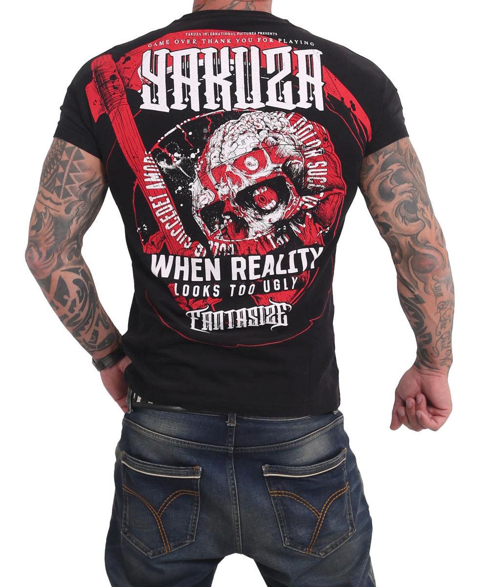 Yakuza Fantasize T-Shirt TSB-17030 black