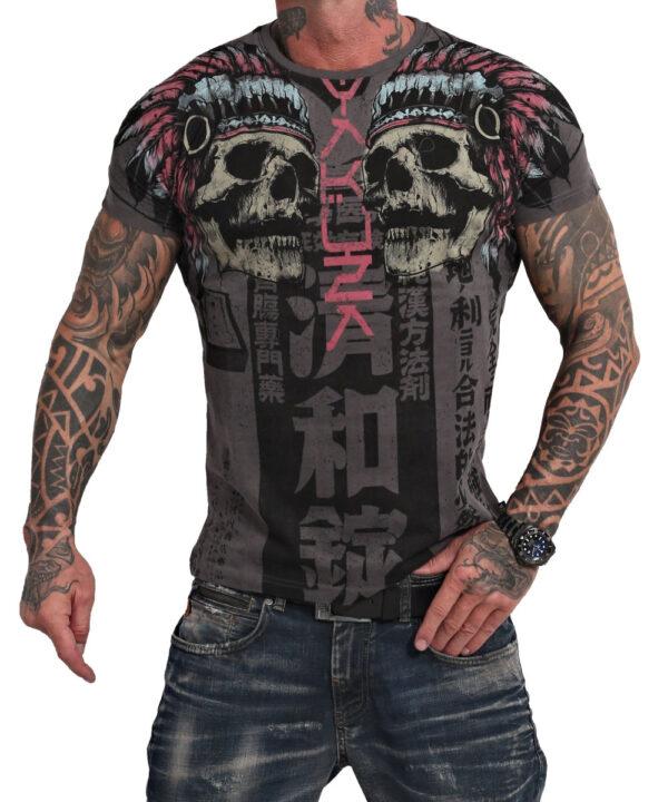 Yakuza Sick Nippon V02 T-Shirt TSB-17061 black