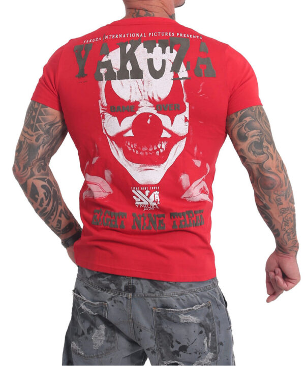 Yakuza Duel The Clown T-Shirt TSB-17067 rot