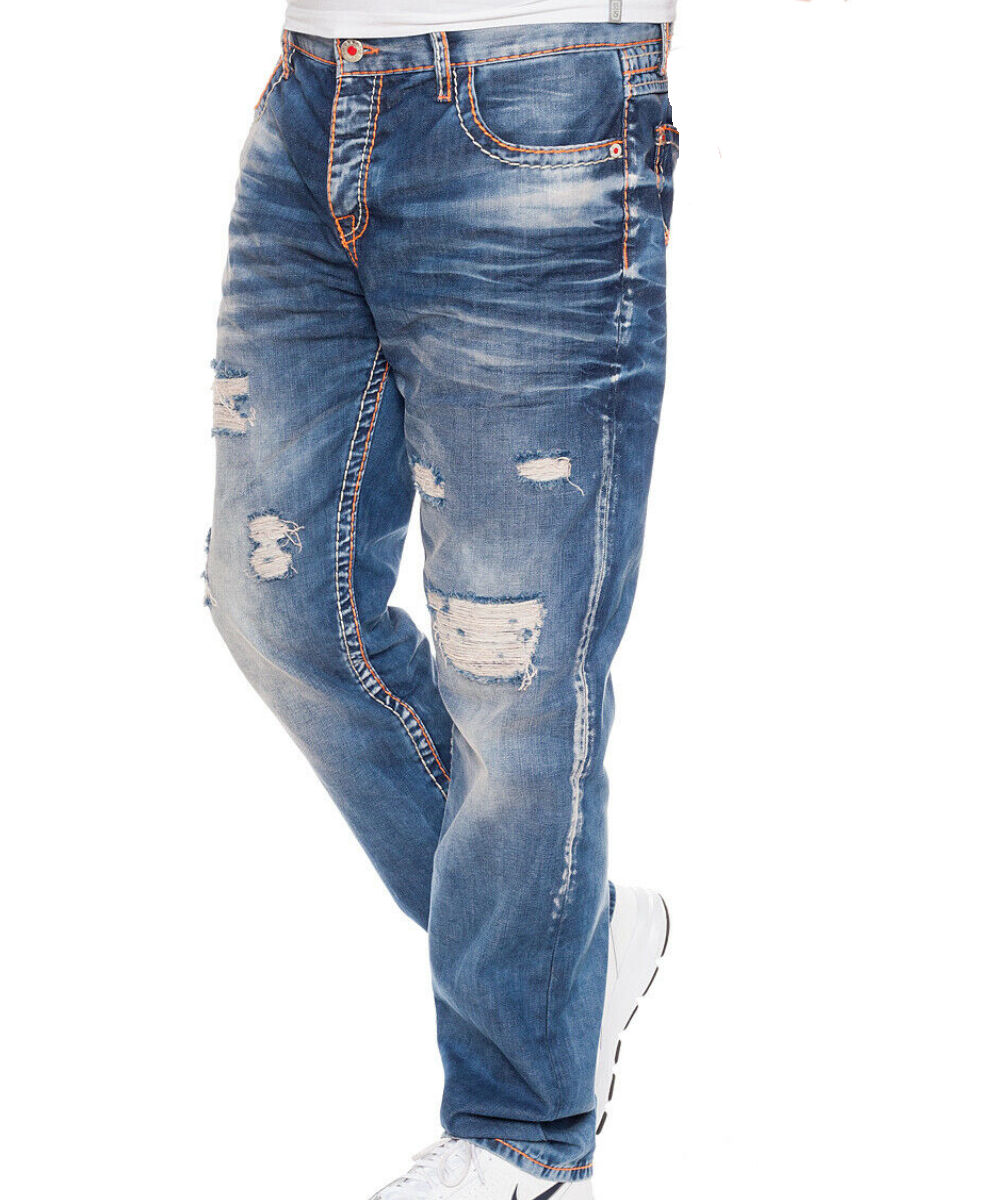 Cipo & Baxx Herren Jeans CD-604 blue