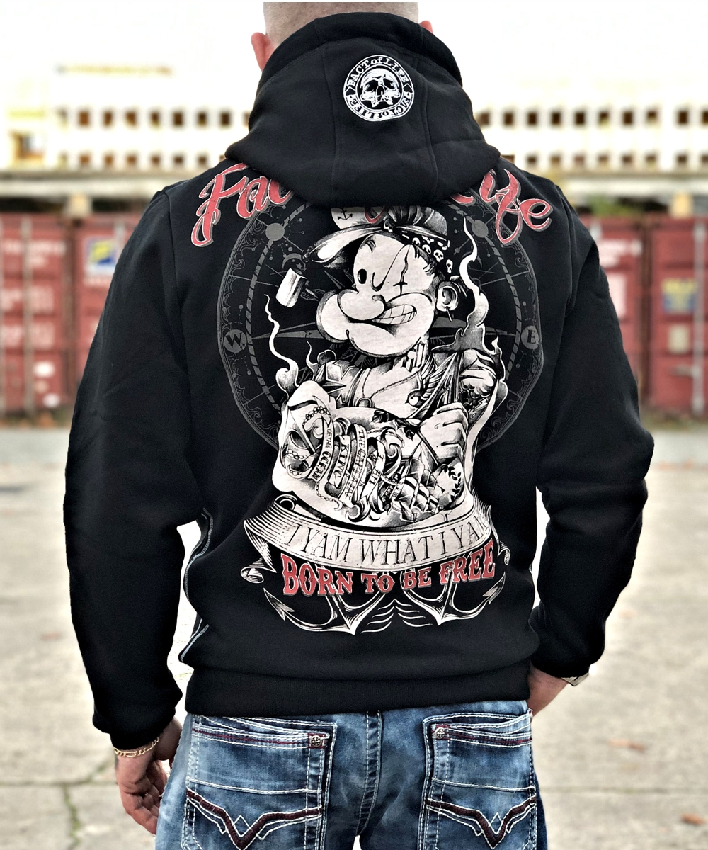 Born To Be Free Hoodie
