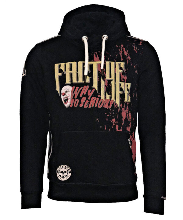 Fact of Life Hoodie Awake and Unafraid SH-06 black