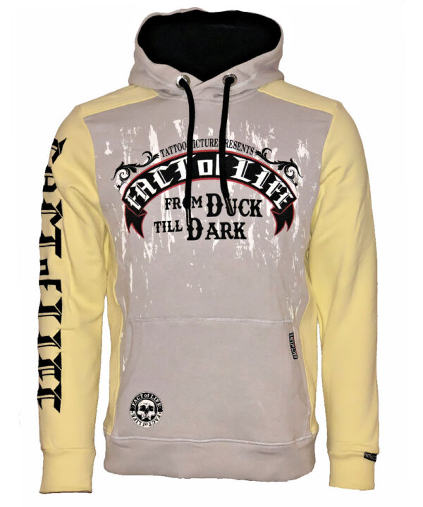 Fact of Life Hoodie From Duck Till Dark SH-07 pale banana
