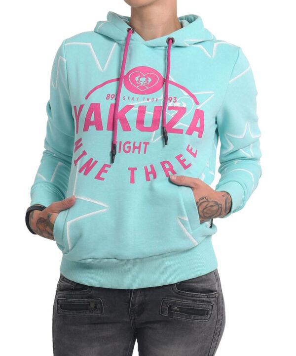 Yakuza 893Starlet Hoodie GHOB-16103 aruba blue